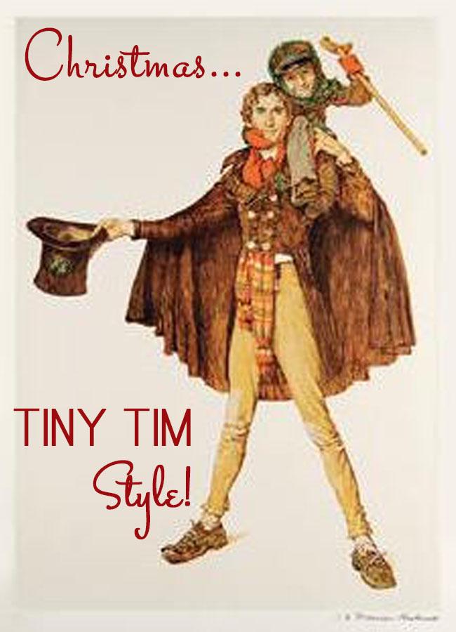 Christmas...Tiny Tim Style!