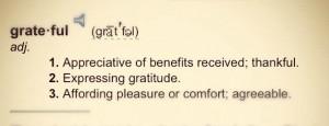On Gratefulness