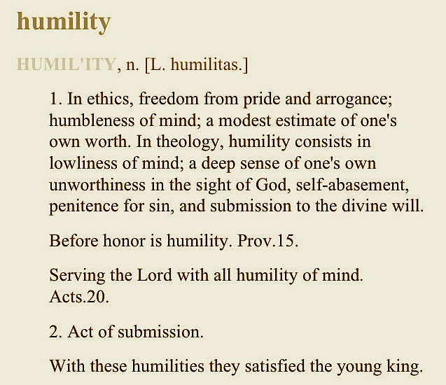 Humble Meaning: Living Above The Noise