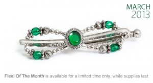 March emerald clip