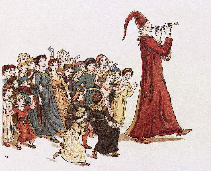 Pied Piper, by Kate Greenaway