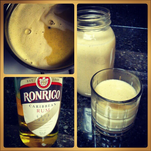 Best Eggnog Ever!  Recipe