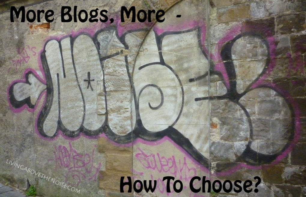 More Blogs, More Noise – How To Choose?
