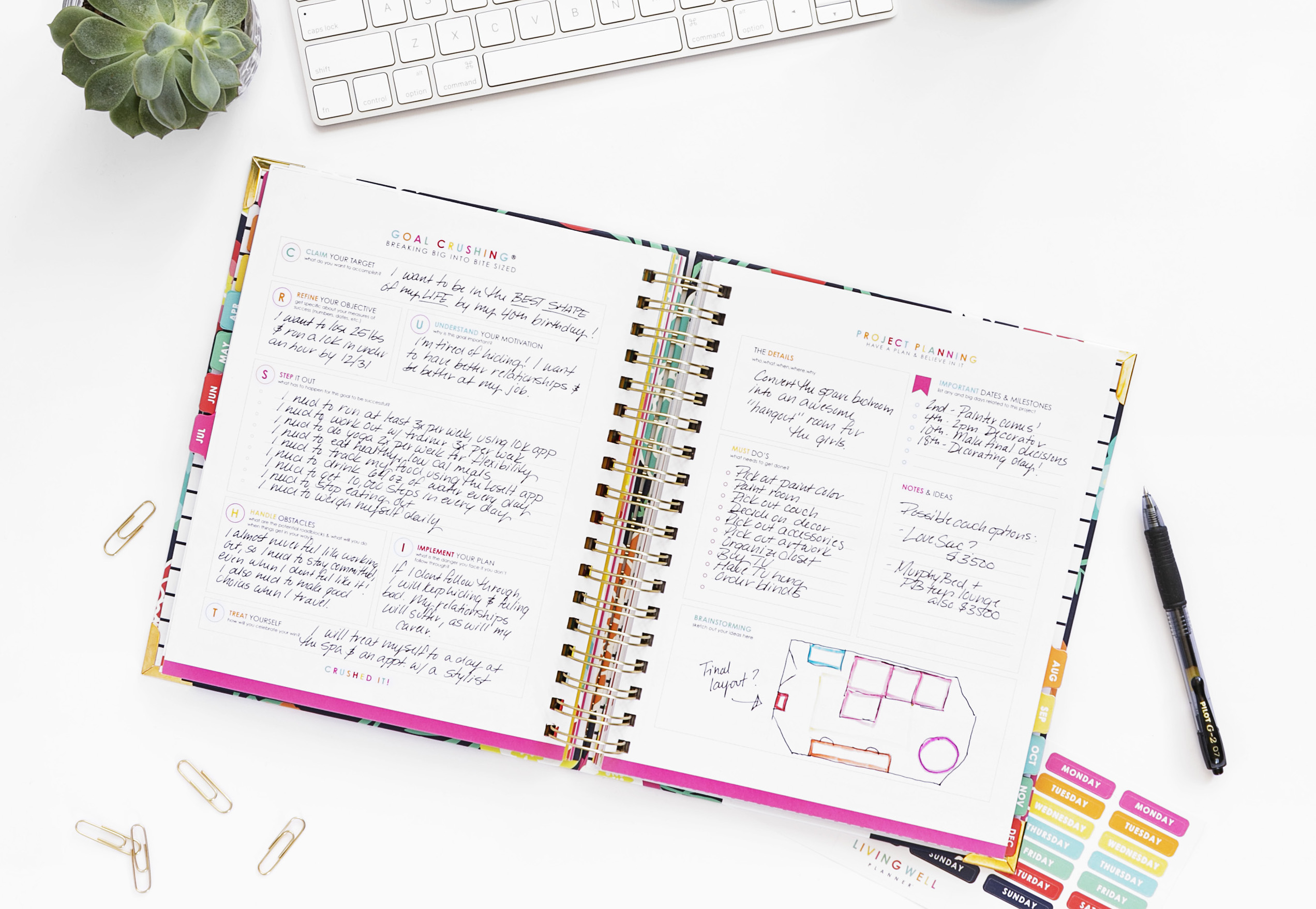 Join My Year-Long Planner Challenge! *