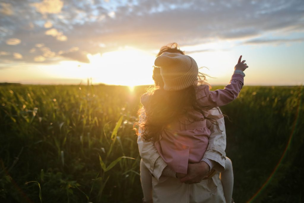 Lessons from the garden for raising your kids.